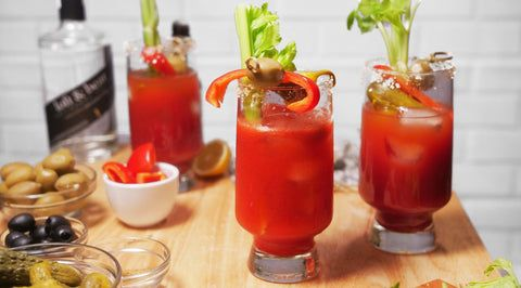 Home Essentials American Craft in Bloody Mary Hi-ball Glass Set of 2